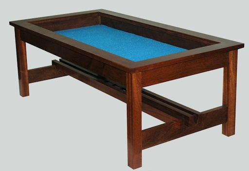 The mountain woodworker for Display coffee table